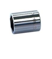 ZEBRA nasadni ključ 1/4 inch metrički 6-ug., kratki magnetni